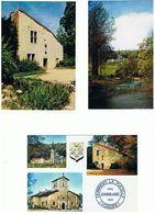LOT DE 6  CARTES DE DOMREMY LA PUCELLE  VOSGES ****   A  SAISIR **** - Postcards