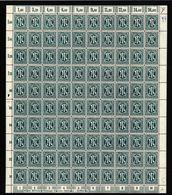 Am-Post-Bogen,25Az,BT.5,mit VI,xx (M7) - Bizone