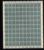 Am-Post-Bogen,25Az,BT.1,mit I,II,xx (M7) - Bizone
