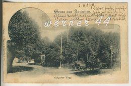 Gruss Aus Rauschen V.1900 Cobjeiter Weg Mit Hotel Und Kutsche  (5065) - Ostpreussen