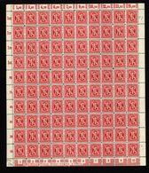 Am-Post-Bogen,24Az,BT.6,mit VI,VII,xx (M7) - Bizone