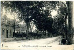 03 - Varennes-sur-Allier ; Avenue De Chazeuil. - France