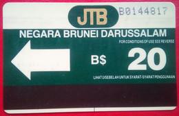 B$20 First Issue - Brunei