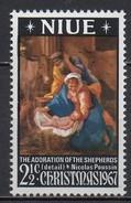 Niue - 1967 - Yvert N° 106 **  - Noël - Niue