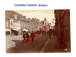 COMINES-KOMEN-PHOTO Mate Allemande-Cliche 295-Inf. Regt.182-GUERRE 14-18-1 WK-Belgien-Militaria- - Comines-Warneton - Komen-Waasten