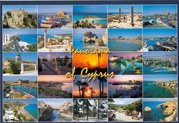 1 AK Zypern Cyprus * Panorama Of Cyprus - Mehrbildkarte Von Zypern * - Zypern