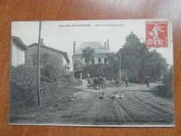 VILLERS En ARGONNE  Route De Passavant  Animée 51 Marne - Sonstige Gemeinden