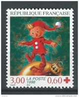 """Timbre France  3199 """" Croix-Rouge """" 1998 Neuf - France"""