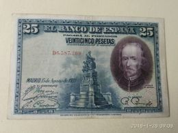 25 Pesetas 1928 - [ 1] …-1931 : Primeros Billetes (Banco De España)
