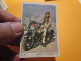 COMPLETEZ VOS ALBUMS !! Image Cartonnée TBE (recupération ) / N° 82 MOTO-PARADE AMERICANA MUNICH Genre PANINI - Motorrad