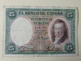 25 Pesetas 1931 - 25 Pesetas