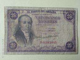 25 Pesetas 1946 - [ 3] 1936-1975 : Regency Of Franco