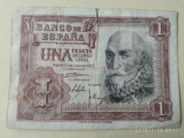 1 Pesetas 1953 - [ 3] 1936-1975 : Regency Of Franco