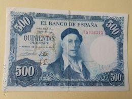 500 Pesetas 1954 - [ 3] 1936-1975 : Regency Of Franco