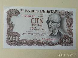 100 Pesetas 1970 - 100 Pesetas