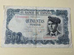 500 Pesetas 1971 - [ 3] 1936-1975 : Regency Of Franco