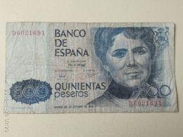 500 Pesetas 1979 - [ 4] 1975-… : Juan Carlos I