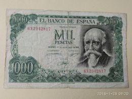 1000 Pesetas 1971 - [ 3] 1936-1975: Regime Van Franco