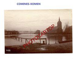 COMINES-KOMEN-PHOTO Mate All.-Cliche 475-Inf. Regt.182-GUERRE 14-18-1 WK-Belgien-Militaria- - Comines-Warneton - Komen-Waasten