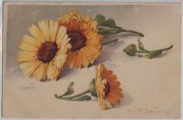 Catharina Klein - Blumen Fleurs Flowers Fiori - Stempel: Thörigen - Klein, Catharina