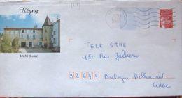 D42-06 Entier Postal / Postal Stationnery / PAP Luquet - Régny (42) - Prêts-à-poster:Overprinting/Luquet