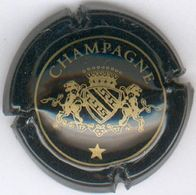 CAPSULE-CHAMPAGNE VANDIERES N°12 Avec étoile Noir & Or - Sonstige
