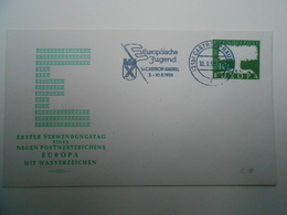 EUROPA CEPT FDC Collection: 1957. BDR Germany Nice Stamp - Europa-CEPT