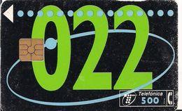 TARJETA TELEFONICA AÑO 1995 - Tarjetas Telefónicas