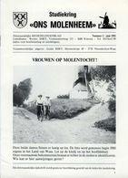 Thema: Molen/moulin - Tijdschrift ONS MOLENHEEM Juni 1981. Essen-Wildert, Antwerpen, Broechem E.a. - Tijdschriften