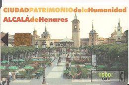 TARJETA TELEFONICA ALCALA DE HENARES - Tarjetas Telefónicas
