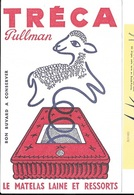 BUVARD  Marque  Le  Matelas  Laine  Et  Ressorts  TRECA  Pullman - Collections, Lots & Series