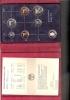 NEDERLAND PROOFSET MUNTEN 1990 MET JAARPENNING - [ 9] Mint Sets & Proof Sets