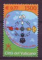 Vatican 2001, Dialogue Among Civilisations 1v MNH - Vaticano (Ciudad Del)