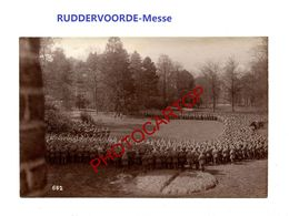 RUDDERVOORDE-MESSE-Religion-PHOTO Mate Allemande-Cliche 662-Inf. Regt.182-GUERRE 14-18-1 WK-Militaria- - Oostkamp