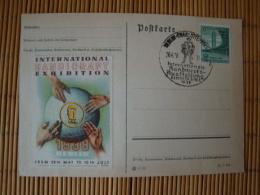 """Sonderkarte Mit Sonderstempel """" Int. Handwerks-Ausstellung Berlin 1938 """" Und Passender Vignette ! - Allemagne"""