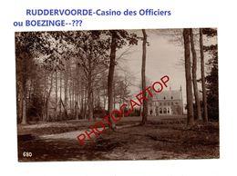 RUDDERVOORDE Ou BOEZINGE-Casino Des Officiers-PHOTO Mate All.-Cliche 680-Inf. Regt.182-GUERRE 14-18-1 WK-Militaria- - Oostkamp
