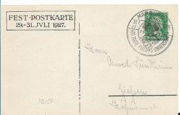 W-GA359 / 400 Jahre Philipps-Universität, Marburg 1927 Nach Giessen - Briefe U. Dokumente