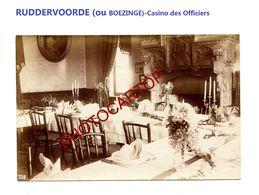 RUDDERVOORDE Ou BOEZINGE-Casino Des Officiers-PHOTO Mate All.-Cliche 708-Inf. Regt.182-GUERRE 14-18-1 WK-Militaria- - Oostkamp