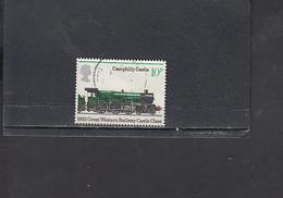 GRAN BRETAGNA  1975 - Unificato  762° - Treni - Usati