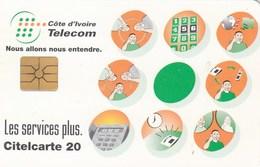 Ivory Coast - Telecom's Services - Côte D'Ivoire