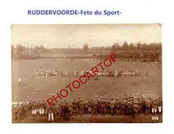 RUDDERVOORDE-Fete Sportive-8-5-1916-Tir A La Corde-Cliche 698-Inf. Regt.182-GUERRE 14-18-1 WK-Militaria- - Oostkamp