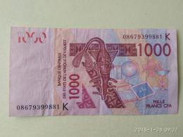 1000 Francs 2003 - Stati Dell'Africa Occidentale