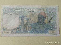50 Francs 1948 - États D'Afrique De L'Ouest