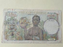 100 Francs 1948 - Stati Dell'Africa Occidentale