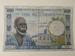 5000 Francs 1975 Costa D'avorio - Stati Dell'Africa Occidentale