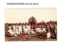 RUDDERVOORDE-Fete Sportive-8-5-1916-Tir A La Corde-Cliche 727-Inf. Regt.182-GUERRE 14-18-1 WK-Militaria- - Oostkamp