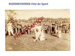 RUDDERVOORDE-Fete Sportive-8-5-1916-La Lutte-Cliche 728-Inf. Regt.182-GUERRE 14-18-1 WK-Militaria- - Oostkamp