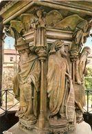 France & Circulated, Le Puits De Moise, La Chartreuse De Champmol, Dijon, Lisboa 1974 (767) - Monuments