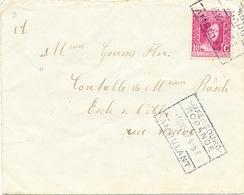 018//26 - Lettre TP Charlotte De Profil Cachet AMBULANT Luxembourg Rodange 1917 Vers ESCH Sur Alzette - 1926-39 Charlotte Rechterzijde