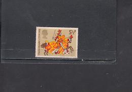 GRAN BRETAGNA  1974 - Unificato  730° - Medioevo - 1952-.... (Elisabetta II)